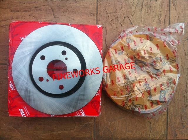 HONDA CITY SEL,IDSI/JAZZ/JAZZ 02'-08' DISC ROTOR 2PCS (TRW)