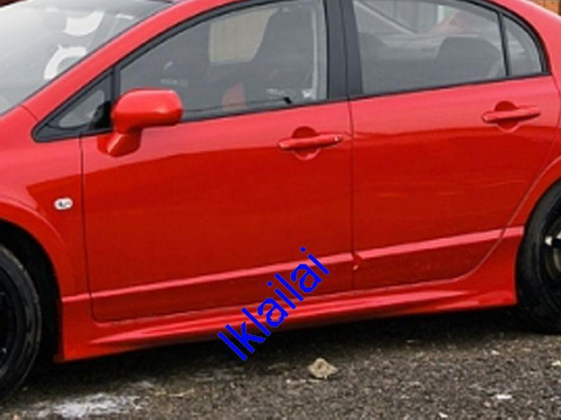Honda Civic `06 FD/SNL Mugen RR Side Skirt PP