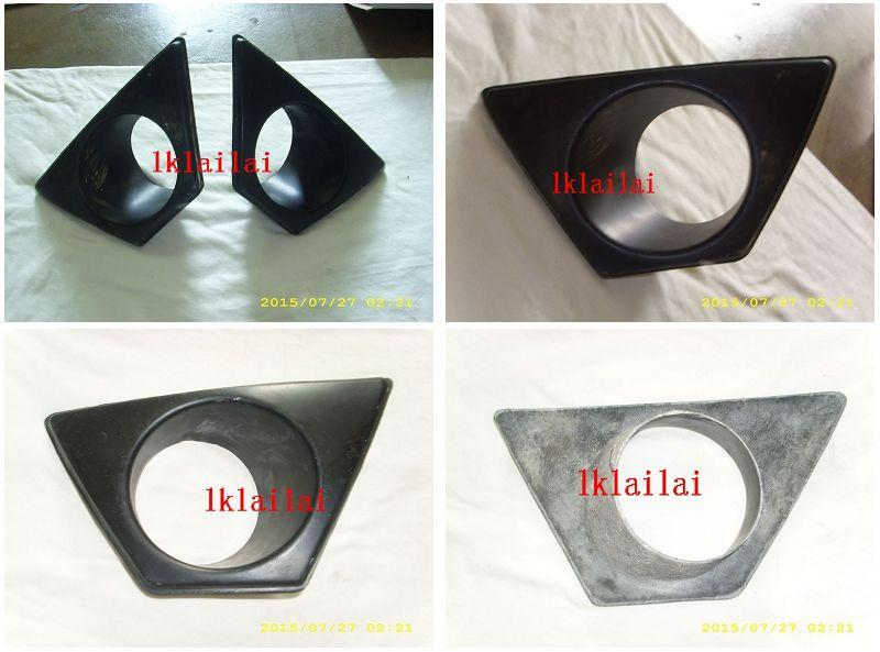 Honda Civic '06 Mugen RR Fog Lamp Cover [For Taiwan Bumper] Fiber