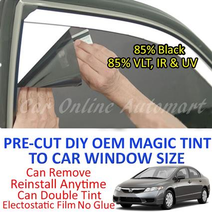 Honda Civic 2002 - Present Magic Tinted Solar Window ( 4 Windows & Rea