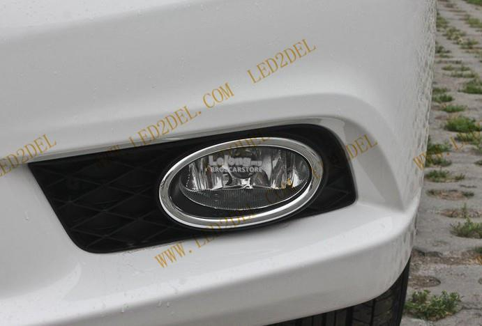 Honda Civic 2013 Front Fog Light Lamp Cover & Daytime Running Light