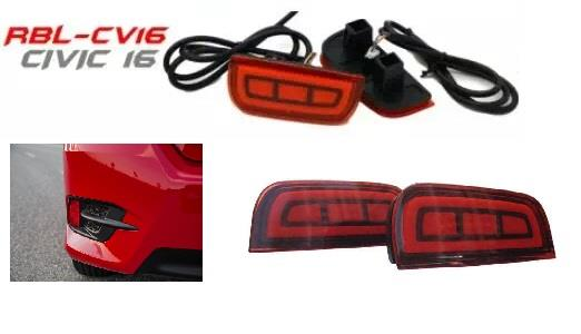 Honda Civic 2016 NEW Rear Bumper Reflector Led Lamp