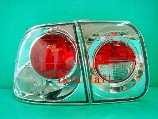 Honda Civic 4D '96 S04/EK/S21 Crystal Tail Lamp [Clear Housing]