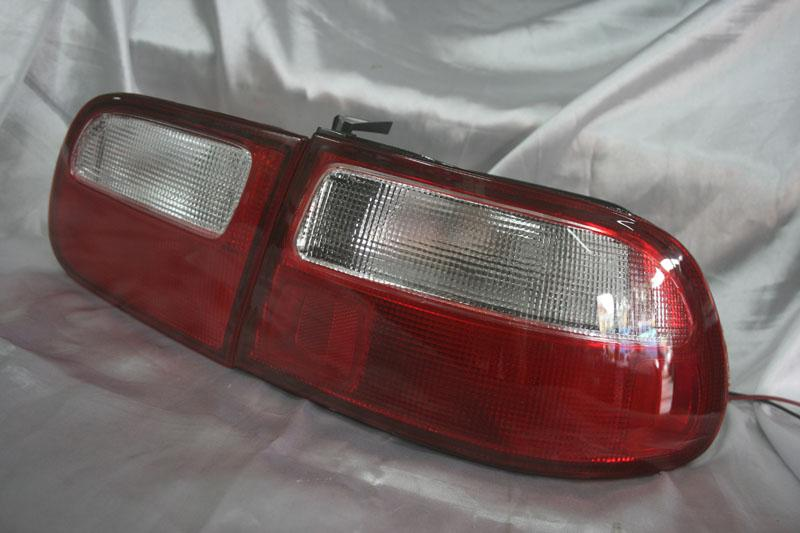 Honda Civic 92-95 Red Clear Tail Lamp