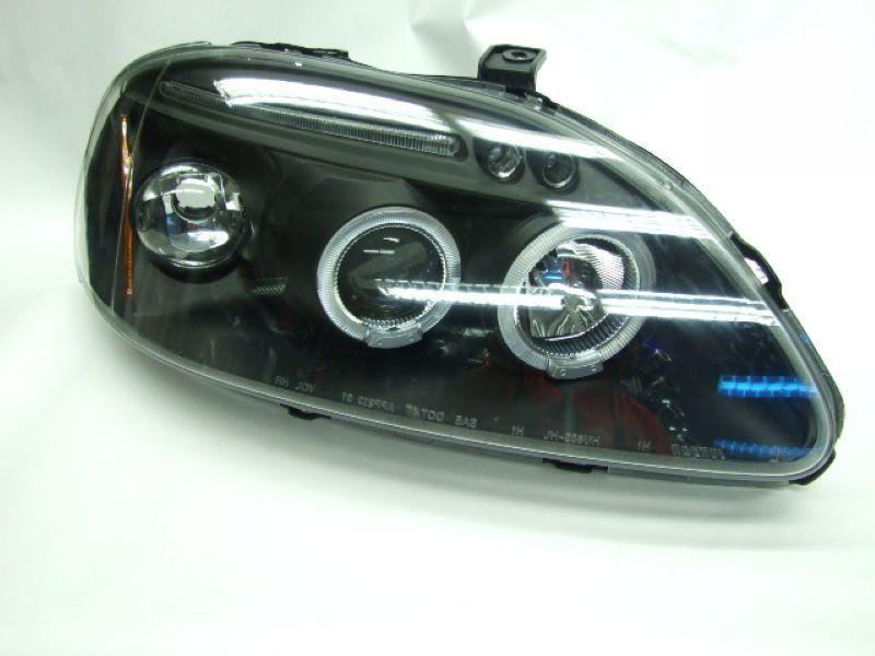 HONDA CIVIC '96 / '99 LED Ring Projector Head Lamp LED Eye Brown