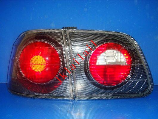 Honda Civic '99 4D S04/EK/S21 Crystal Tail Lamp Black Housing
