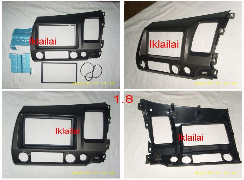 Honda Civic FD '06-09 1.8 Double Din Casing / Dashboard Panel Casing
