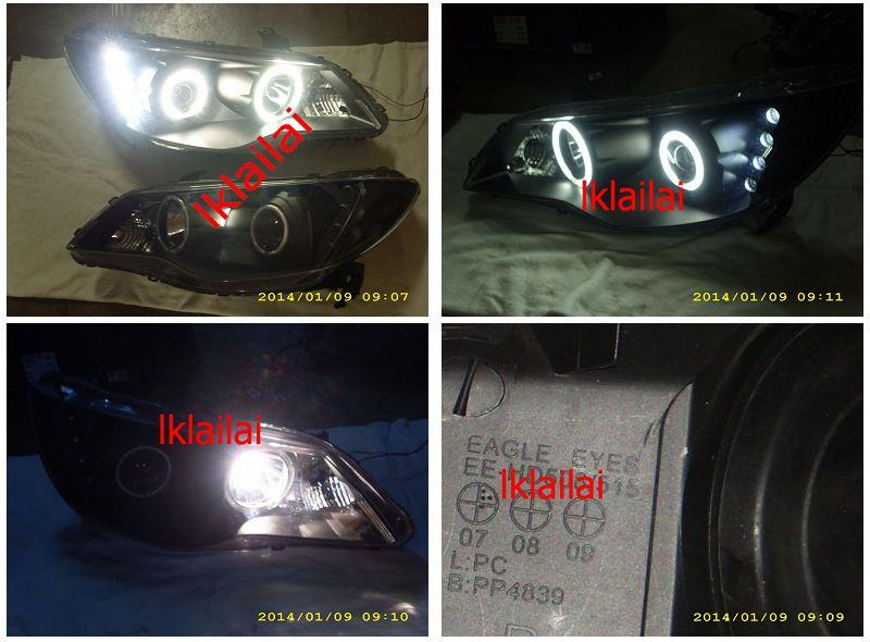 Honda Civic FD 06-09 Projector CCFL Ring Head Lamp