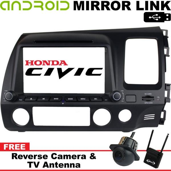 "HONDA CIVIC FD 2007-11 DLAA 8"" Full HD Double Din GPS DVD SD TV Player"