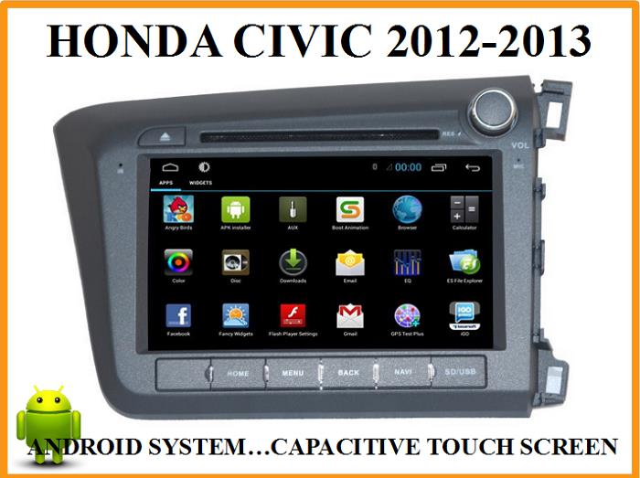 HONDA CIVIC OEM CAR DVD PLAYER with ANDROID SYSTEM