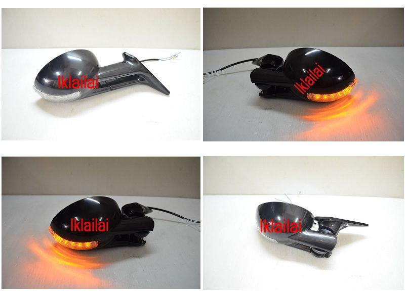 Honda Civic SR/EG '92-95 4D Door/Side Mirror LED '0' Style