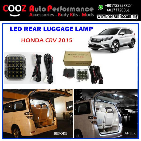 HONDA CRV 2014 REAR LUGGAGE/BOOT/TRUNK LED LIGHT LAMP