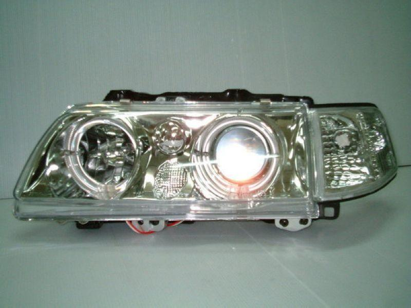 HONDA CRX 88-92 LED Ring Projector Head Lamp + Corner Lamp