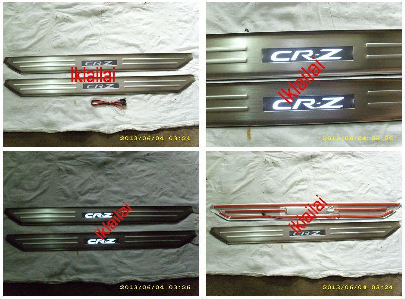 HONDA CRZ CR-Z Door / Side Sill Plate With LED Light [2pcs/set]