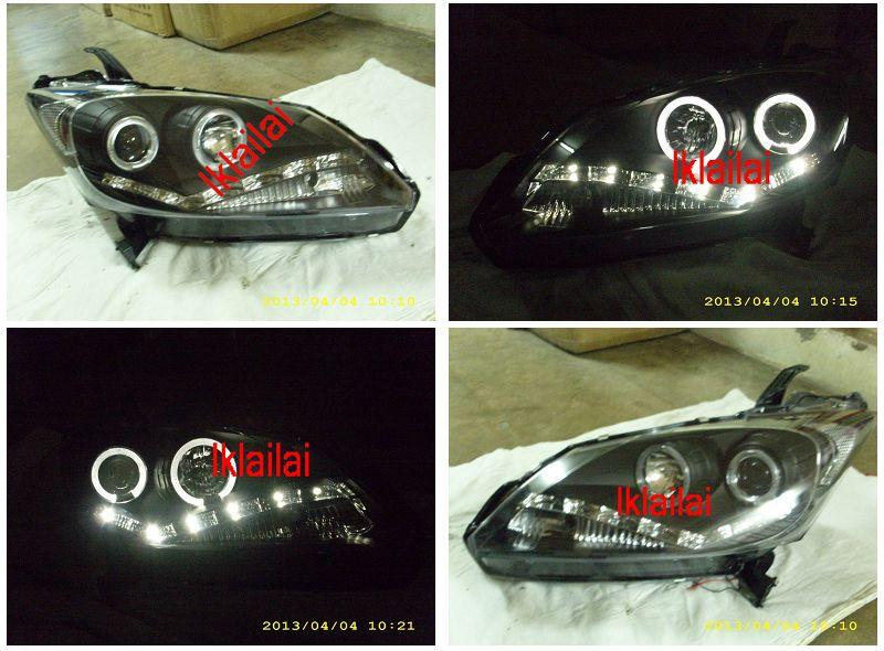 Honda Freed LED Ring Projector Head Lamp LED Daylight R8