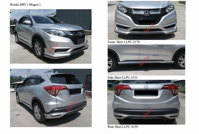 Honda HRV '14-15 Mugen/Modulo Full Set Body Kit [Skirting+Spoiler]