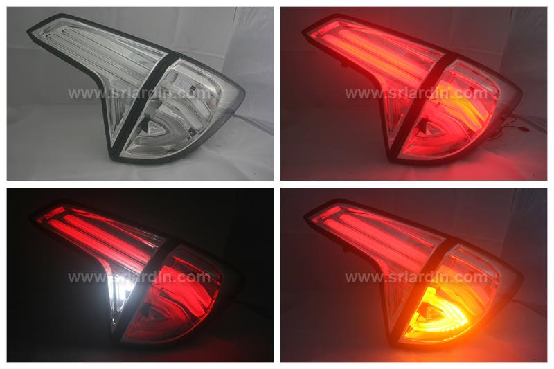 Honda HRV 15- Clear Light Bar Tail Lamp