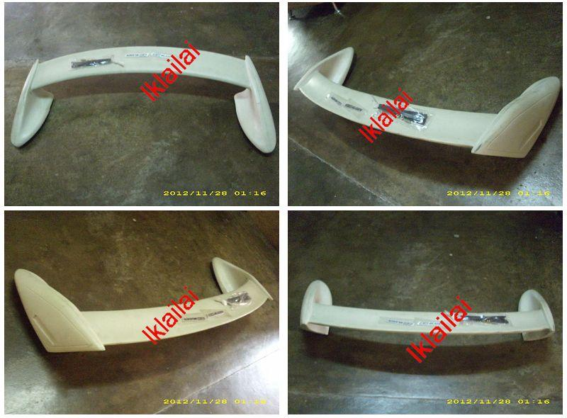 Honda Insight Mugen Style Spoiler Painted ABS Material