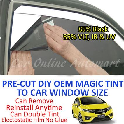 Honda Jazz 2014 - Present Magic Tinted Solar Window ( 4 Windows & Rear