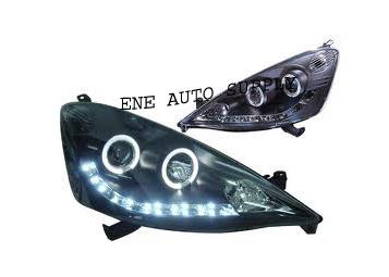 Honda Jazz / Fit 08' Projector Head Lamp with LED & DRL