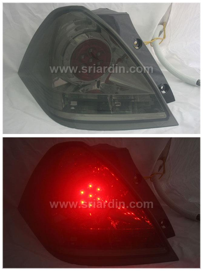 Honda Odyssey 03 - 08 RB1 Smoke LED Tail Lamp