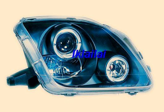 HONDA PRELUDE '97-01 Projector Head Lamp [Black / Clear Housing]