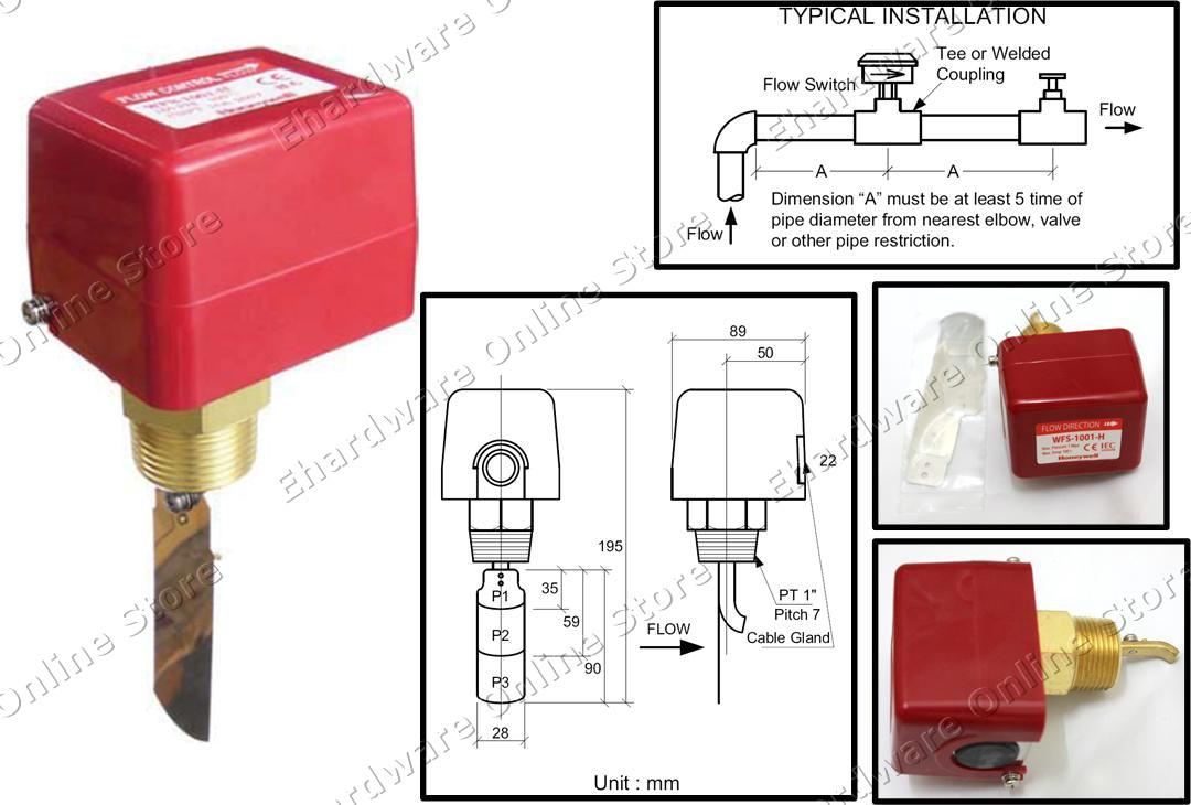 Honeywell Water Flow Switch    End 7  20  2017 6 19 Am