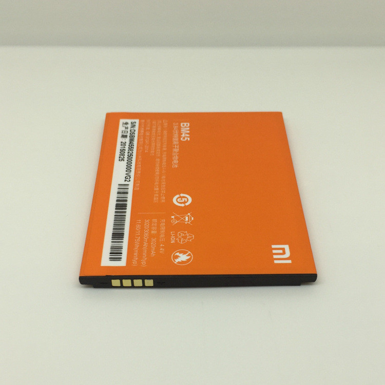 Hong Red Mi Note 2 HongMi Note2 Battery BM45 Sparepart Repair Service