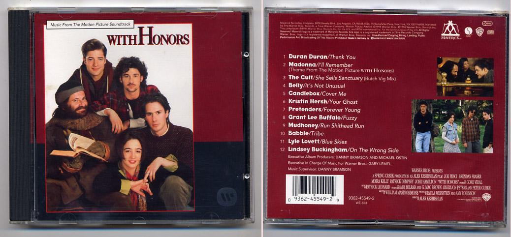 'With Honors' Soundtrack CD