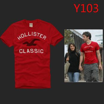 Hot A&F Abercrombie Fitch HCO Summer Men T-shirt Red Selection