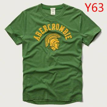 Hot A&F NY Fitch Summer Men T-shirt Green Selection