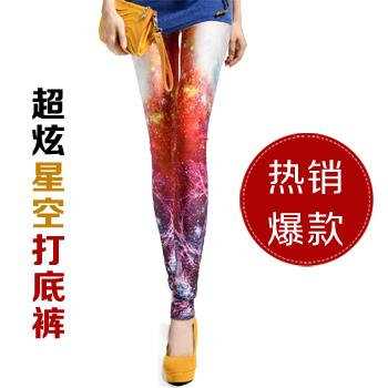Hot~Fashion Blazing Star Leggings