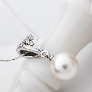 Hot Korean~Fashion Ladies Imitation Pearls Necklace
