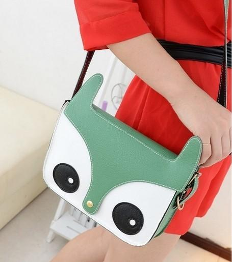 Hot Promotion Korean fashion Anima Face Cute Female bag