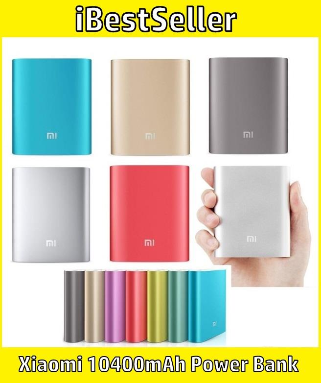 Hot Sale!! Xiaomi Power Bank 10400mAh Mi Power Bank 10400mAh