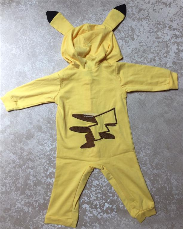Hot selling Pokemon full embroidery costume