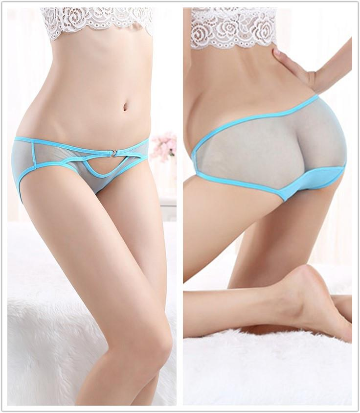 Hot~Sexy Gauze Hollow Transparent Underwear