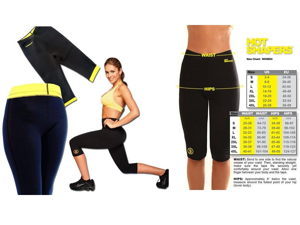 Hot Shaperwear- Hot Pants & Belt for Gym Weight Loss for ...