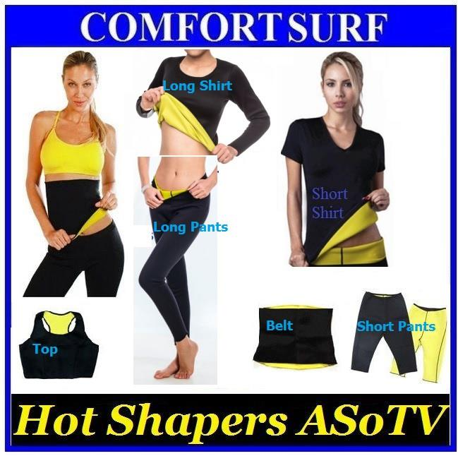 Neoprene Slimming Top Tube Pants Fitness Body Hot Shaper Sport ASoTV