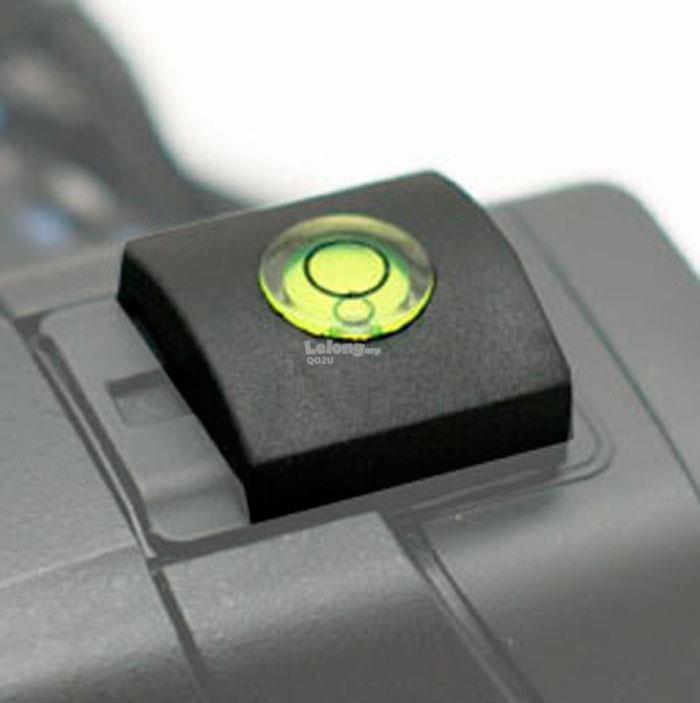 Hot Shoe Cover With Bubble Spirit Level For Sony (Old Hot Shoe)