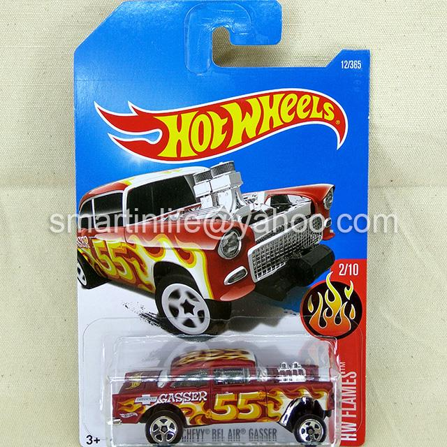 Hot Wheels 1955 Chevy Bel Air Gasser (Red) #2/10