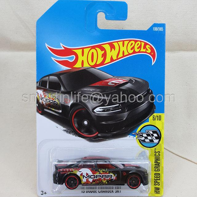 Hot Wheels 2015 Dodge Charger SRT (Black) #6