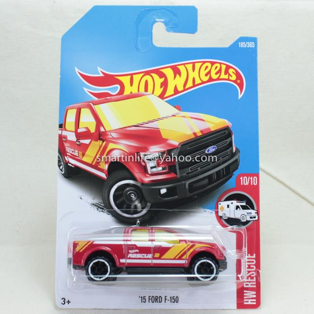 Hot Wheels 2015 Ford F 150 Red 1 End 3 14 2018 12 15 Am