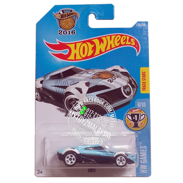 Hot Wheels 2016 HW Games MR11 [Light Blue]
