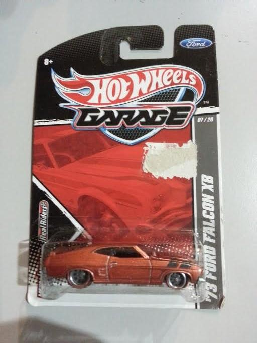 Hot Wheels Diecast -  '73 Ford Falcon XB Ford Garage Series NEW