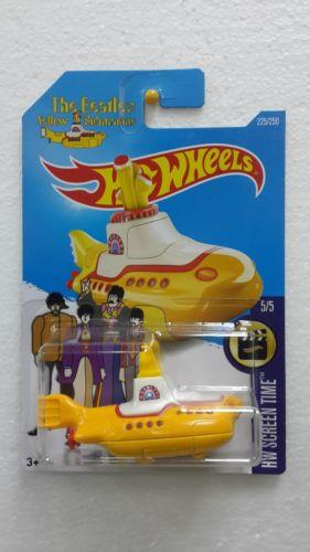 Hot Wheels Diecast - The Beatles Yellow Submarine NEW