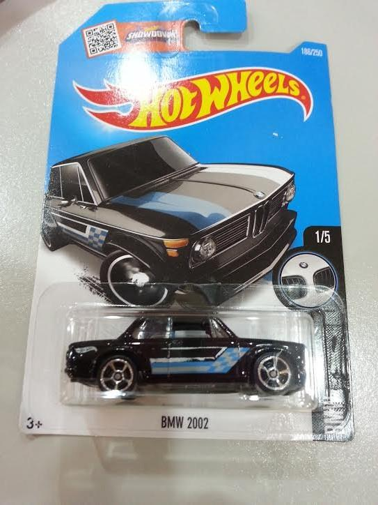 Hot Wheels Diecast - BMW 2002 (Black) NEW