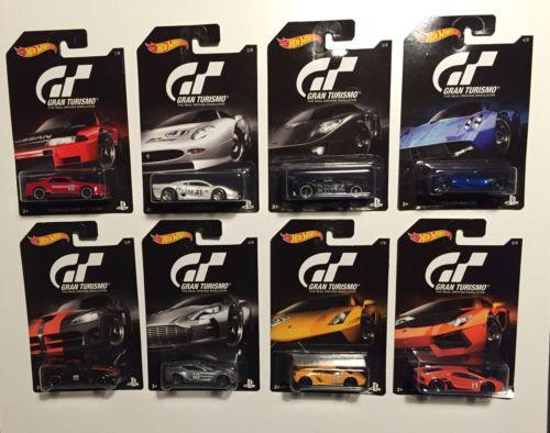 Hot Wheels Diecast GT Turismo - Complete of 8packs NEW