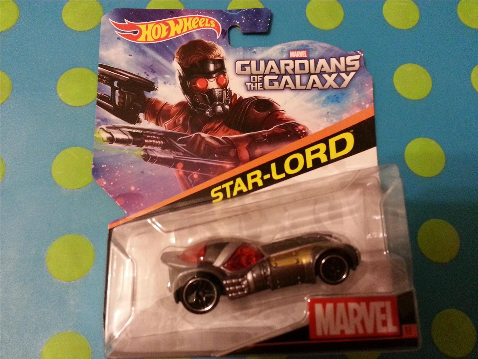Hot Wheels Diecast - Marvel Guardians of the Galaxy Star Lord NEW