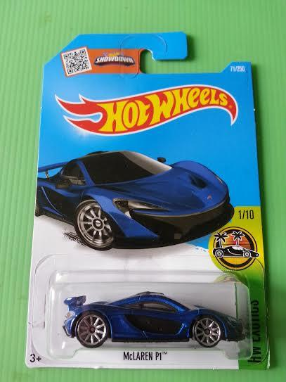 Hot Wheels Diecast - 'McLaren P1 (Blue) NEW